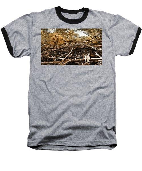 Baseball T-Shirt featuring the photograph Impenetrable by Steve Sperry