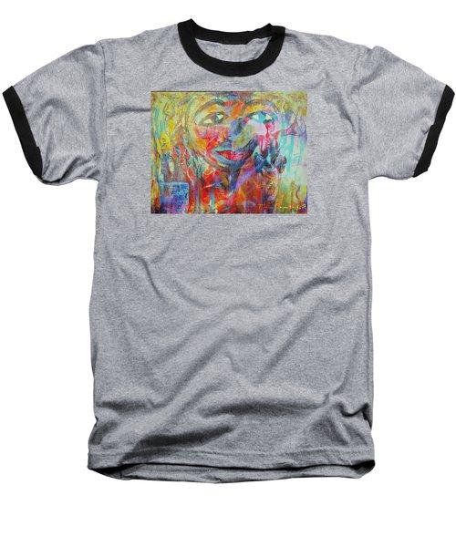 Imperfect Me Too Baseball T-Shirt by Fania Simon