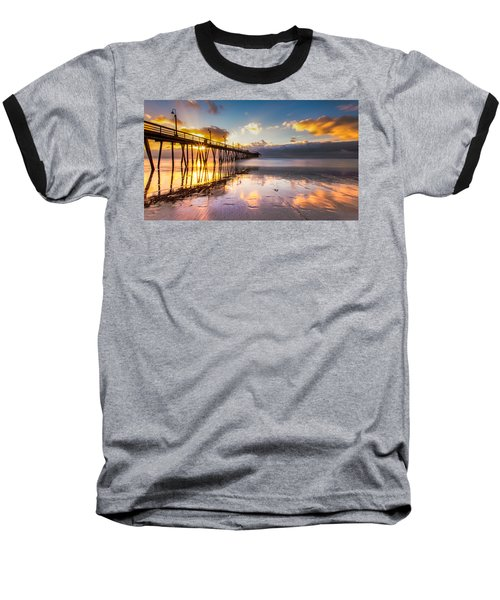 Baseball T-Shirt featuring the photograph Imperial Burst by Ryan Weddle