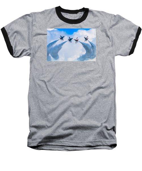 Implode Baseball T-Shirt