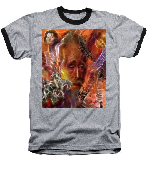 Impossible Dream Baseball T-Shirt by John Robert Beck