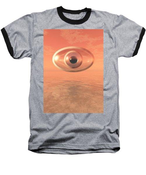 Impossible Eye Baseball T-Shirt