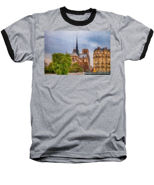 Impression, Paris Baseball T-Shirt