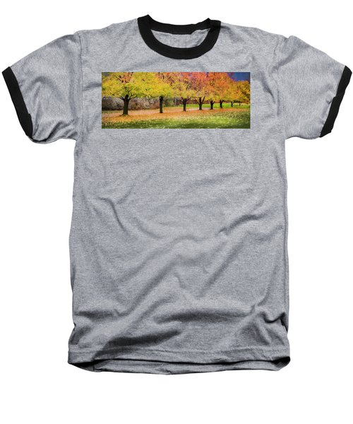 Baseball T-Shirt featuring the photograph Impressionist Autumn by Theresa Tahara