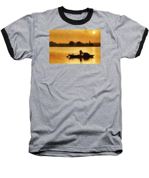 Impressionist Dawn Baseball T-Shirt by Cameron Wood