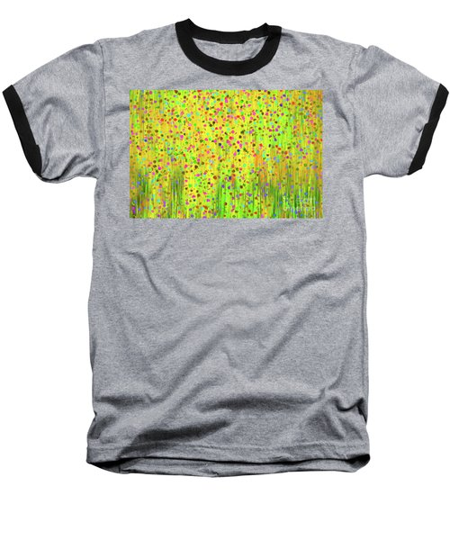 Impressionist Meadow Baseball T-Shirt by Silvia Ganora