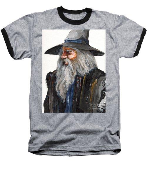 Impressionist Wizard Baseball T-Shirt