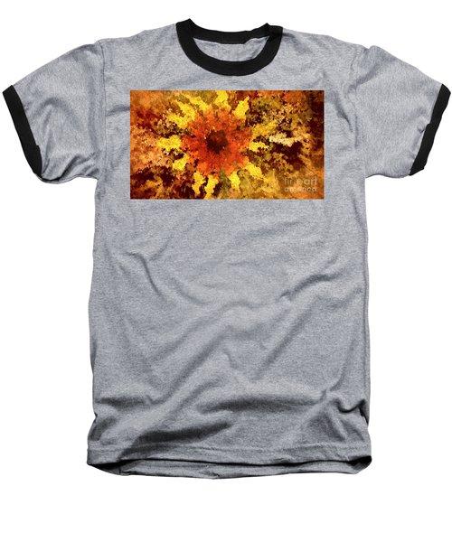 Impressionistic Petals Baseball T-Shirt