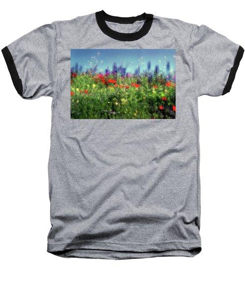 Impressionistic Springtime Baseball T-Shirt