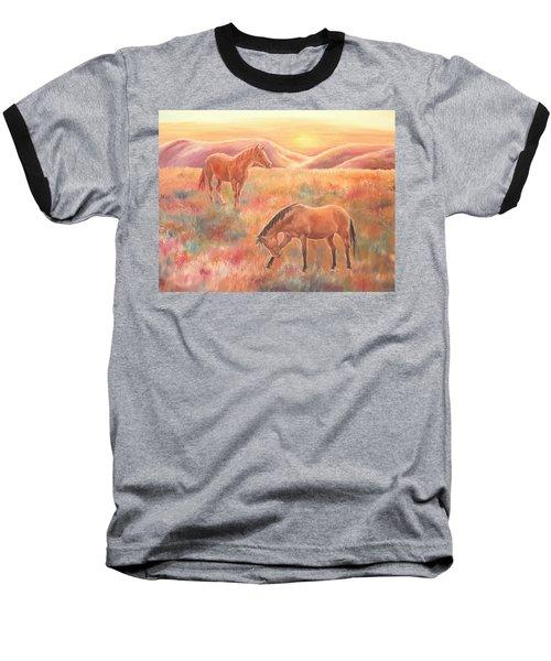 Impressions At Sunset Baseball T-Shirt