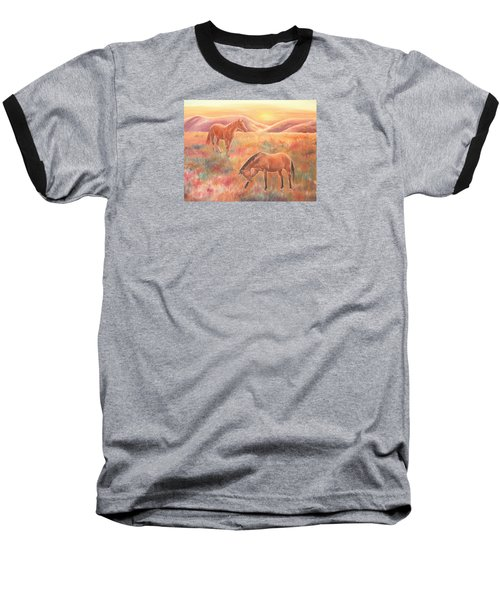 Impressions At Sunset Baseball T-Shirt