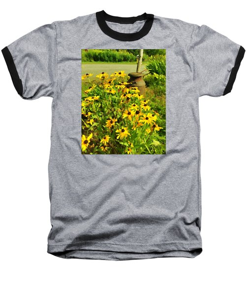 Impressions Of A Country Garden Baseball T-Shirt