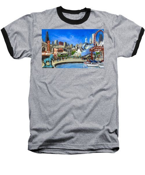 Impressions Of Chicago Baseball T-Shirt