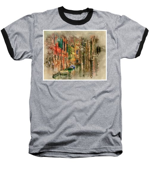 Impressions Of Venice Baseball T-Shirt