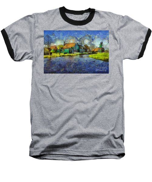Impressions Of Zaanse Schans Baseball T-Shirt