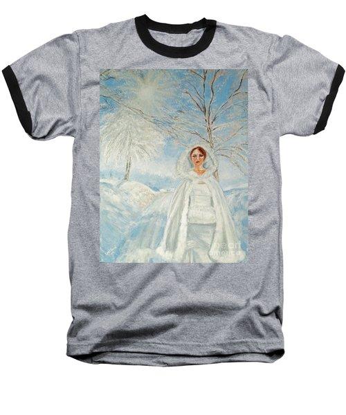 In Beauty I Walk Baseball T-Shirt by Lyric Lucas