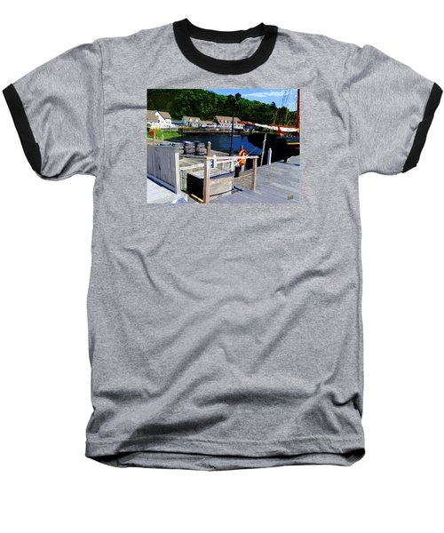 In Discovery Harbor Baseball T-Shirt