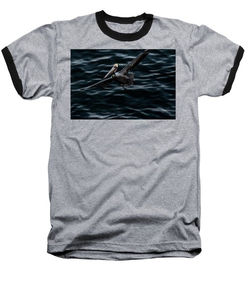 In-flight Baseball T-Shirt by James David Phenicie