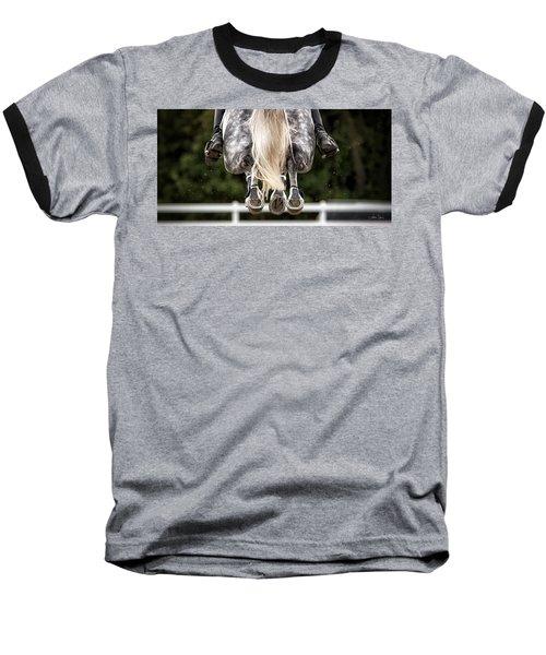 In Flight Baseball T-Shirt by Joan Davis