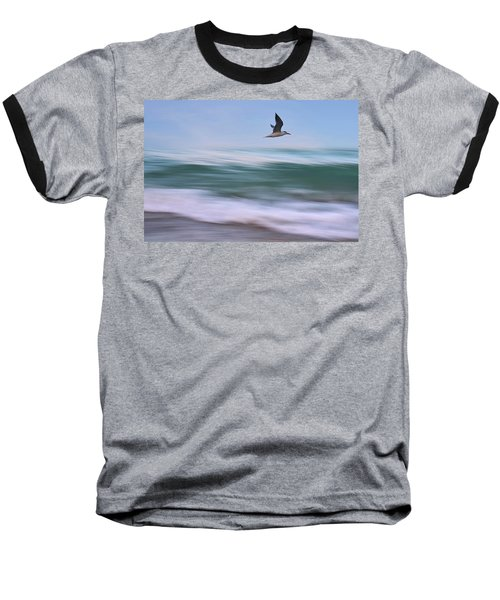In Flight Baseball T-Shirt by Laura Fasulo