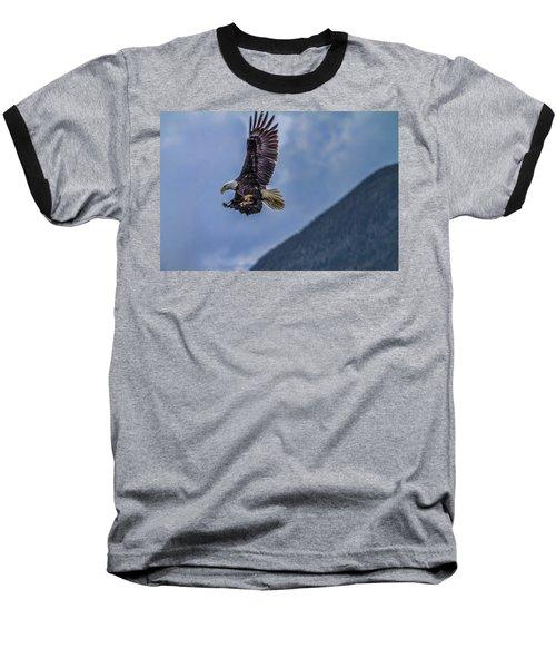 In Flight Lunch Baseball T-Shirt