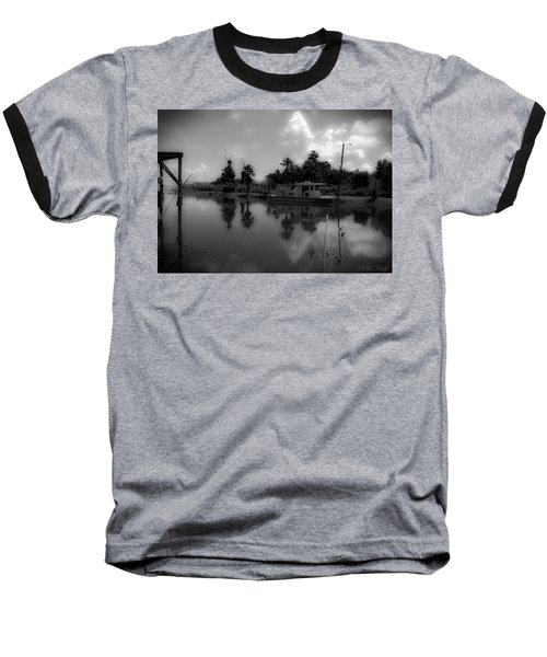 In Florida, A Boat Baseball T-Shirt