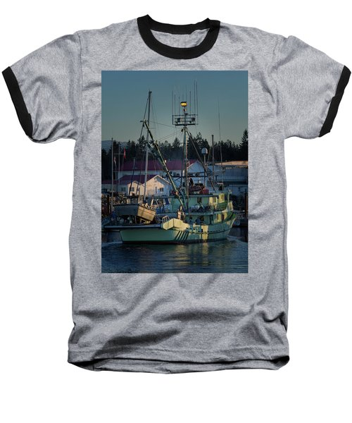 Baseball T-Shirt featuring the photograph In For Ice by Randy Hall