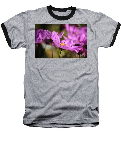 In Full Bloom Baseball T-Shirt by Sheila Ping