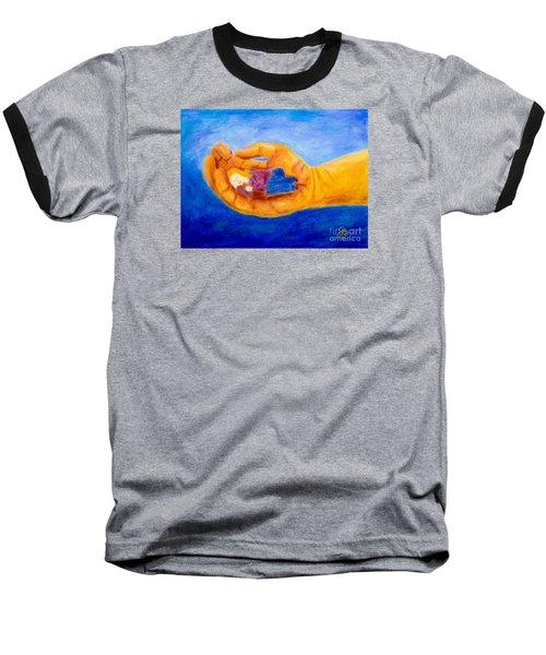 In God's Hand Baseball T-Shirt