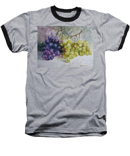 In Harmony Baseball T-Shirt by Elena Oleniuc