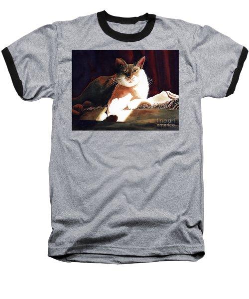 In Her Glory II               Baseball T-Shirt by Kathy Braud