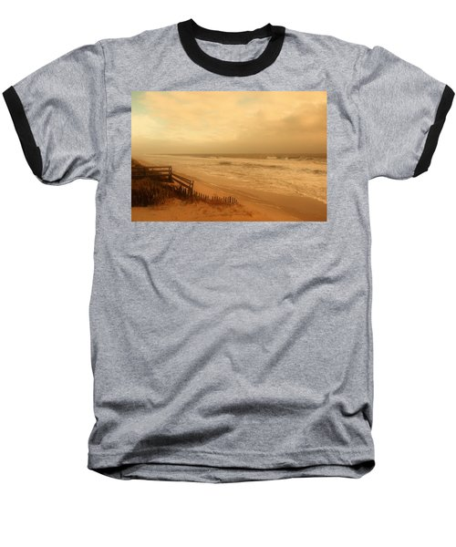 In My Dreams The Ocean Sings - Jersey Shore Baseball T-Shirt