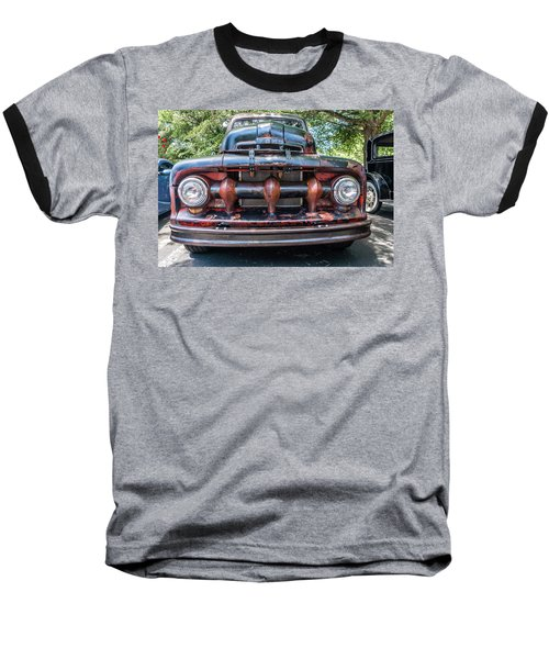 Baseball T-Shirt featuring the photograph In My Grill by Michael Sussman