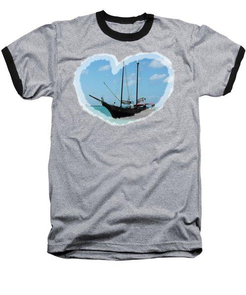 In My Heart Baseball T-Shirt by David and Lynn Keller