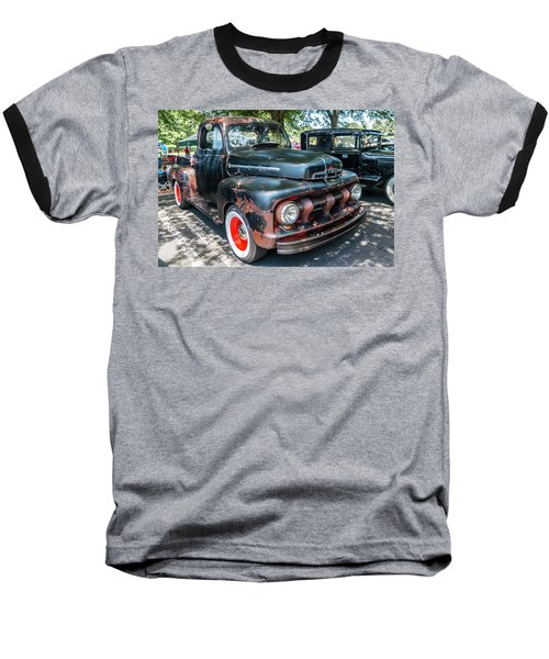 Baseball T-Shirt featuring the photograph In Rust We Trust by Michael Sussman