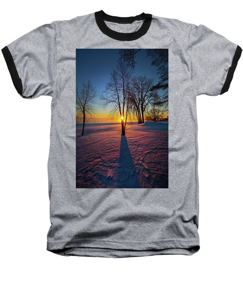 Baseball T-Shirt featuring the photograph In That Still Place by Phil Koch