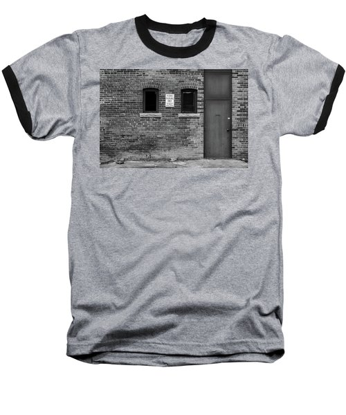 Baseball T-Shirt featuring the photograph In The Alley by Monte Stevens