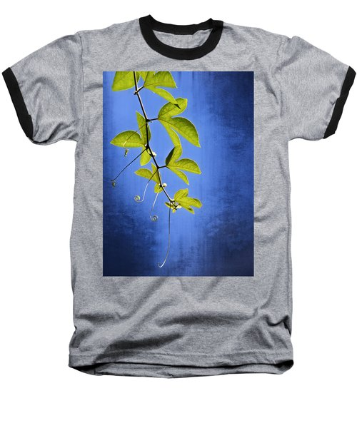 Baseball T-Shirt featuring the photograph In The Blue by Carolyn Marshall