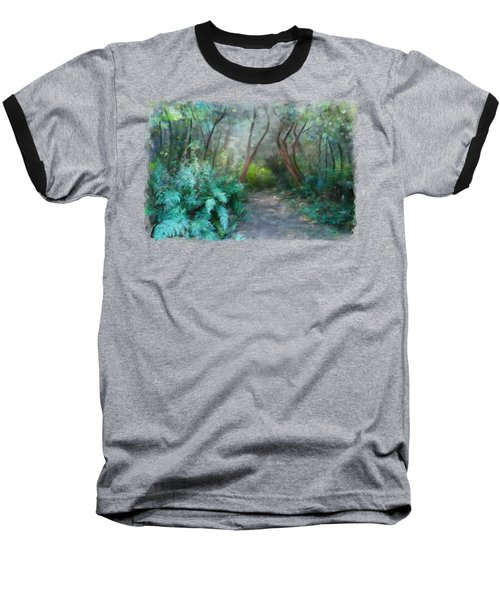 Baseball T-Shirt featuring the painting In The Bush by Ivana Westin