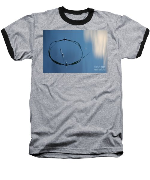 Baseball T-Shirt featuring the photograph In The Cloud by Brian Boyle