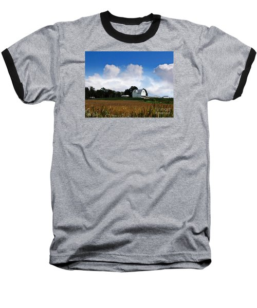 In The Clouds Baseball T-Shirt