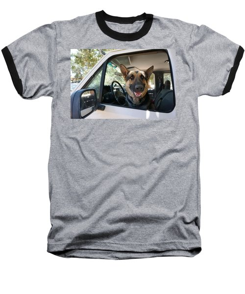 In The Driver's Seat  Baseball T-Shirt