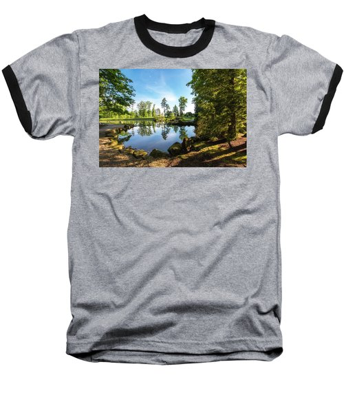 Baseball T-Shirt featuring the photograph In The Early Morning Light by Tom Mc Nemar