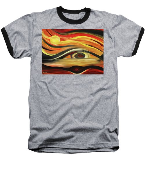 In The Eye Of The Beholder Baseball T-Shirt