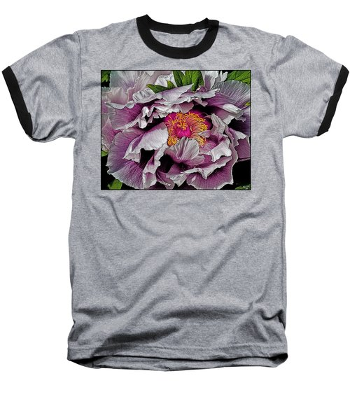 In The Eye Of The Peony Baseball T-Shirt
