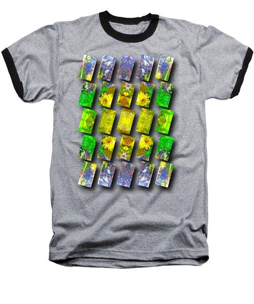 In The Fractured Gardens Baseball T-Shirt
