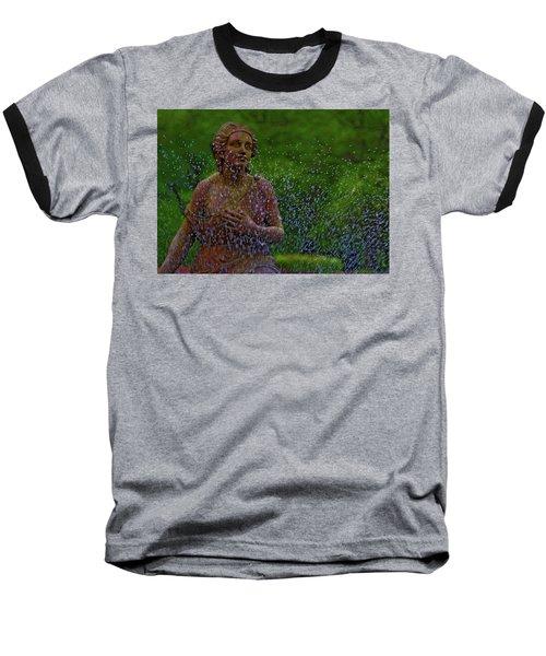 In The Garden Baseball T-Shirt by Rowana Ray