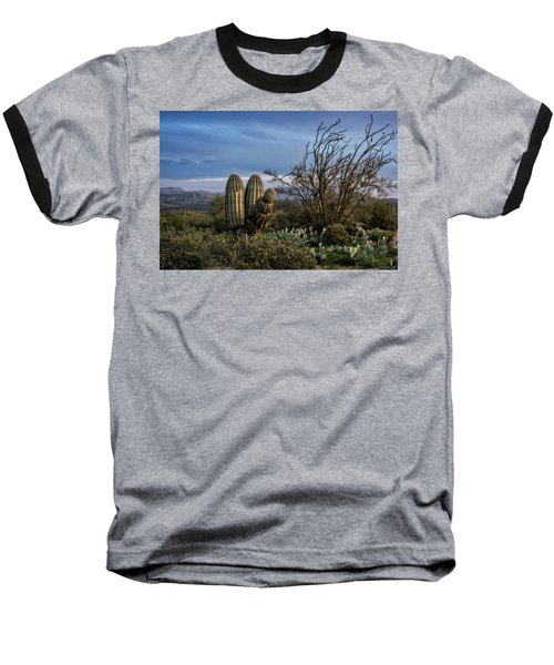 Baseball T-Shirt featuring the photograph In The Green Desert  by Saija Lehtonen