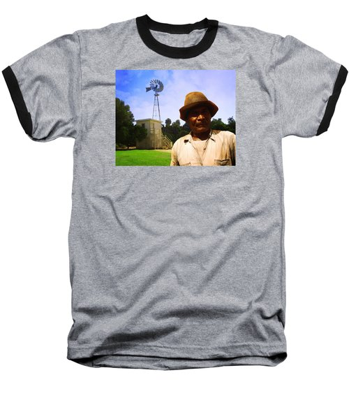 Baseball T-Shirt featuring the photograph In The Groves by Timothy Bulone