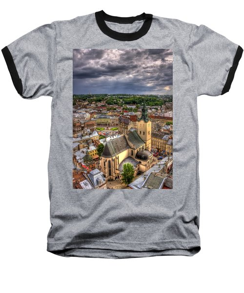 In The Heart Of The City Baseball T-Shirt